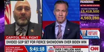 Rep. Clay Higgins Gets Called Out On His Electoral College Lies