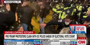 Whiny Proud Boys Battle D.C. Police