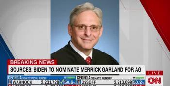 Biden's Attorney General:  Merrick Garland