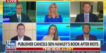 Fox Host Jedediah Bila Schools Josh Hawley On The First Amendment