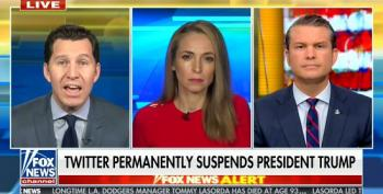 Fox & Friends Hosts Whine About Trump Being Banned From Social Media