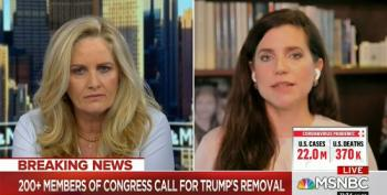 MSNBC's Alex Witt Allows GOP Rep To 'Both Sides' Trump's Insurrection