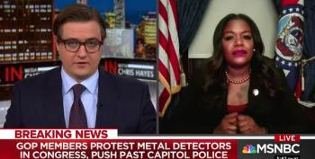 Rep. Cori Bush Tells GOPers Who Won't Go Through Metal Detectors To 'Find Another Job'
