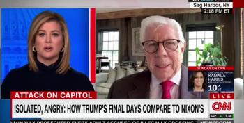 Carl Bernstein Warns: 'Seditious' Trump Is Far Worse Than Nixon
