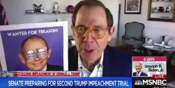 Republican Who Didn't Object To Impeachment Finds 'Wanted For Treason' Flier On Office Door