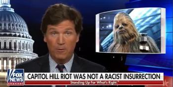Tucker Carlson Claims Democrats Are Using Riots For Propaganda While He Uses Propaganda