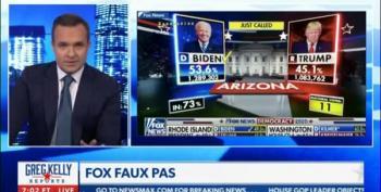Newsmax: Fox News 'Stuck It To Trump' By Calling Arizona On Election Night