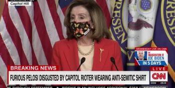 Pelosi Calls 'Camp Auschwitz' Rioter 'That PUNK'