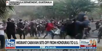 Fox Continues Their Fearmongering Over Migrant Caravans