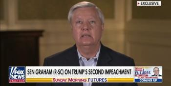 Lindsey Graham Blames Nancy Pelosi For Security Breach During MAGA Sedition Riot