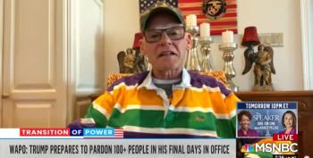 James Carville Laughs At Trump's Pardonpalooza