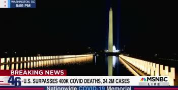 Brian Williams Suggests Making Lights Along The Reflecting Pool Permanent