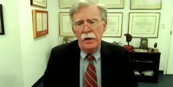 John Bolton Pushes 'Trump Is Yesterday's News' Meme