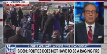 Chris Wallace Praises President Biden's Inaugural Speech As Part Sermon, Part Pep Talk