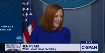 Jen Psaki Proves She's Up To The Task Of Dealing With Fox News