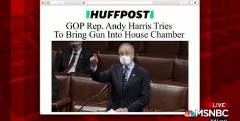 Rep. Andy Harris (R-Md) Tried To Smuggle A Handgun Onto The Floor Of The House Of Representatives