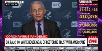 Dr. Fauci Admits Trump's COVID-19 Dishonesty Cost U.S. Lives