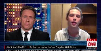 Brave Young Patriot Talks To Chris Cuomo About Turning His Father In To FBI After Insurrection