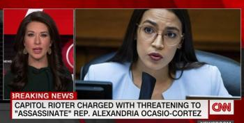 Capitol Hill Rioter Charged With Threatening To 'Assassinate' Rep. Alexandria Ocasio-Cortez