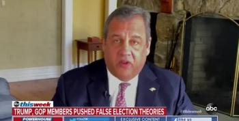 Republican Chris Christie Has Had It With His Party's 'Election Fraud' BS