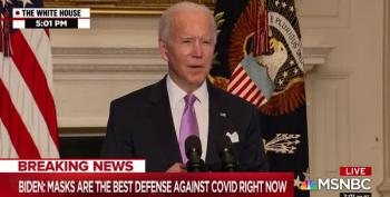 Biden Hits Rep. Chip Roy On His 'Kiss My Ass' Mask Comment