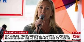 Report: QAnon Rep.Taylor Greene Threatened Dems