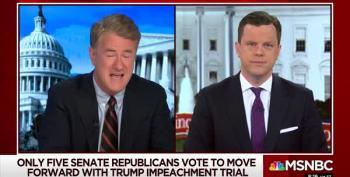 Furious Scarborough Tears Into GOP Senators Over Impeachment Vote