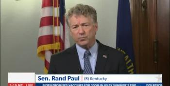Rand Paul Goes 'Both Sides' To Diss Impeachment