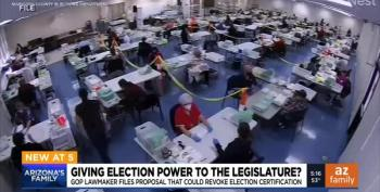 AZ Bill Gives Legislature Power To Overturn Election Results