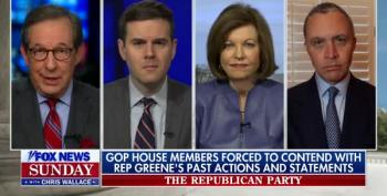 Chris Wallace: Republicans Angrier At Liz Cheney Than Marjorie Taylor Greene