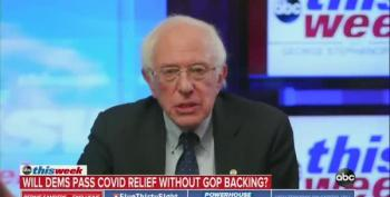 Bernie Sanders: Get The People What They Need, Stat!