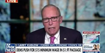 Larry Kudlow, Back At Fox, Doesn't Believe US In Economic Crisis