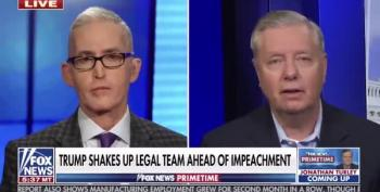 Lindsey Graham 'Threatens' To Bring FBI To Impeachment