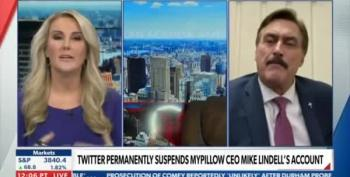 Newsmax Host Walks Off Set Because Of Mike Lindell's Lies