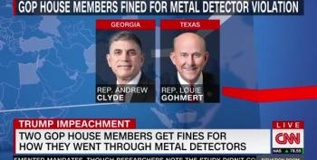 GOP Reps. Gohmert And Clyde Fined $5K For Bypassing House Metal Detectors
