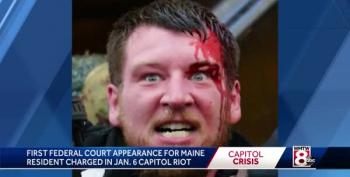 Mainer Arrested For Role In Capitol Riot Described As Racist
