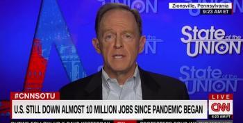 Sen. Pat Toomey: More Stimulus Not Necessary, Economy Is 'Roaring Back'
