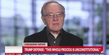 Trump Lawyers Lose Alan Dershowitz Along With 56 Senators