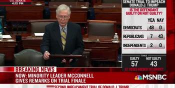 McConnell Affirms Trump's Sedition And Guilt AFTER Voting To Acquit