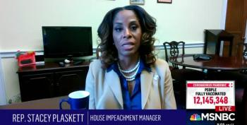 Plaskett Explains Impeachment Managers' Approach To Witnesses