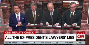 John Avlon: Trump's Lawyers In Peril For Pushing 'Easily Disproven Lies' At Impeachment Trial