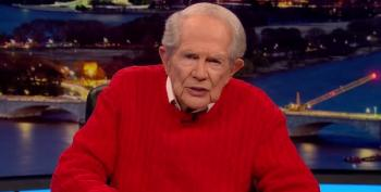 Pat Robertson Claims A New 'Ice Age' Is Coming