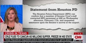 Ted Cruz Requests Police Escort Through Houston Airport Terminal