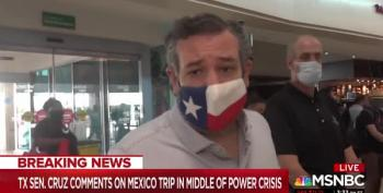 Ted Cruz Uses His Daughters As Human Shields