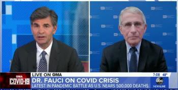 Dr. Fauci On 500K U.S. COVID Deaths: It Didn't Have To Be This Bad