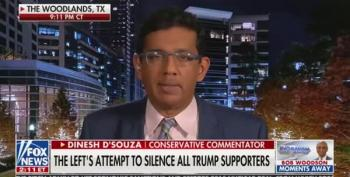 Dinesh D'Souza Claims There Was No Insurrection At US Capitol