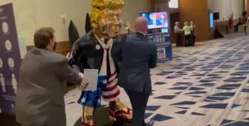 CPAC Features Gold Trump Statue