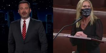 Kimmel: 'Klan Mom' Greene Is Worst Person Of 2021