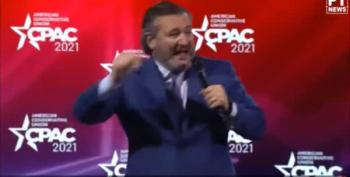 Sen. Ted Cruz' 'Rebel Yell' At CPAC 2021