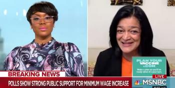 Rep. Jayapal Urges Dems 'Go To The Mat' Over $15 Min Wage
